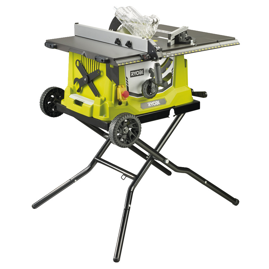 Tremendous 1800W Corded Table Saw And Stand Power Tools Ryobi Tools Home Interior And Landscaping Mentranervesignezvosmurscom