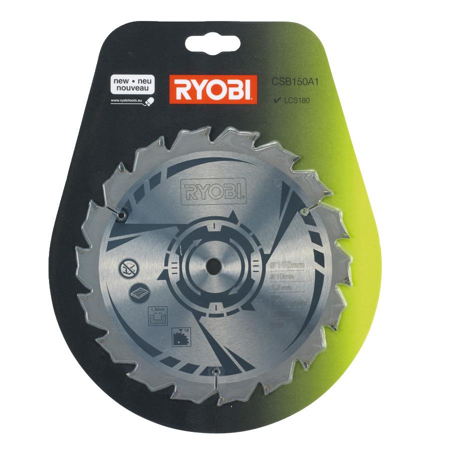 18v cordless circular saw power tools ryobi tools 150mm circular saw blade greentooth Images